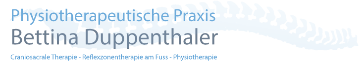 Craniosacrale Therapie - Reflexzonentherapie am Fuss - Physiotherapie