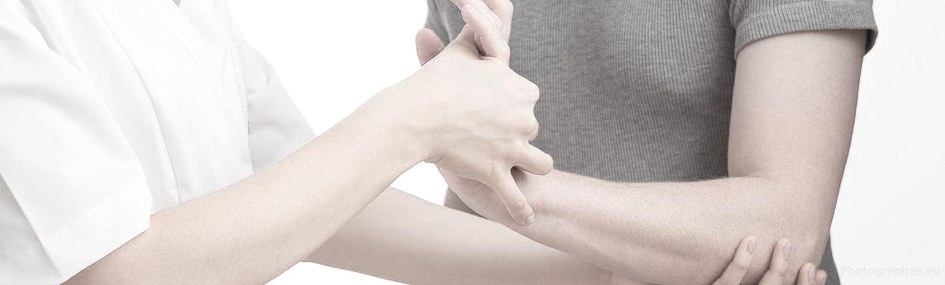 Schmerzen werden behandeln mit Physio Therapie in Birsfelden